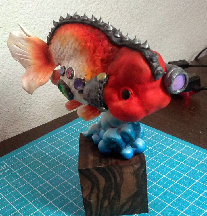 goldfish_red_ranchu (Custom)